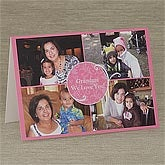 Personalized Photo Collage Greeting Cards - 8234