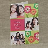 Personalized Photo Greeting Cards - Our Love Blooms - 8235