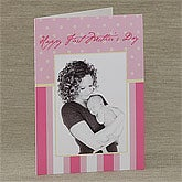 Personalized Photo Mother's Day Cards - Dots & Stripes - 8236