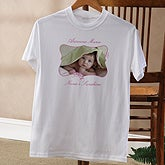 Personalized Photo T-Shirts - Picture Perfect Photo & Message - 8252