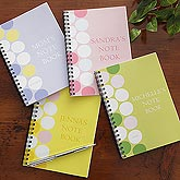 Personalized Notebook Sets - Dots of Fun - 8258
