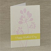 Personalized Greeting Cards - Floral Blossoms - 8262