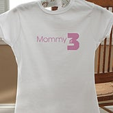 Personalized Ladies Apparel - Mommy Of - 8275
