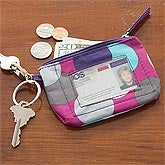 Personalized ID Case Keyring - Confetti Dot - 8280