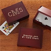 Personalized Playing Card Box - 8308