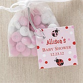 Personalized Baby Shower Party Favor Tag - Love Bug - 8312
