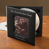 Personalized Anniversary Photo CD and DVD Case - 8316