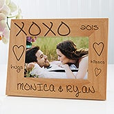 Hugs & Kisses Personalized Frame