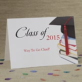 With Honors© Personalized Greeting Card