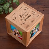 Personalized Photo Cube - Reason Why - 8395