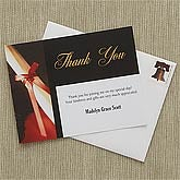 Personalized Graduation Thank You Cards - Diploma - 8407
