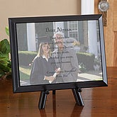 Personalized Graduation Photo Plaque - Photo and Poem Plaque - 8436