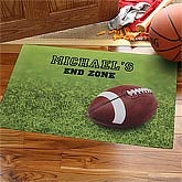 Personalized Football Doormat - Touchdown - 8443