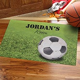 Goal!© Personalized Soccer Doormat