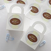 It's A Boy Personalized Baby Shower Favor Stickers - 8458