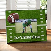 Personalized Football Picture Frames - Touchdown - 8462