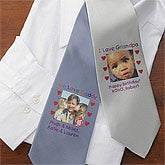 Personalized Photo Ties For Men - Photo Message - 8467