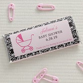Personalized Baby Shower Chocolate Bar Wrappers - 8478