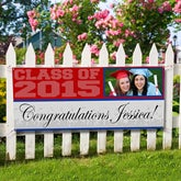 Class Of© Personalized Photo Banner