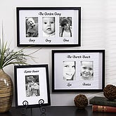 Family Gallery Custom Mat Picture Frames - One Photo