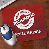 Personalized Corporate Custom Logo Promotional Mousepad - 8523
