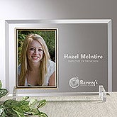 Personalized Engraved Logo Glass Frame - 8528