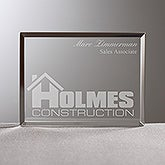 Personalized Corporate Custom Logo Acrylic Award Plaque - 8540