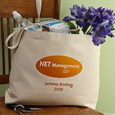 "Personalized Logo Tote Bag - 20"" x 15"" - 8545"