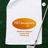 Personalized Corporate Custom Logo Golf Towel - 8547