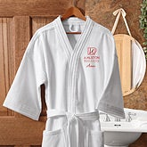 Personalized Corporate Embroidered Logo Robe - 8561