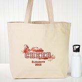 Personalized Girls Totebag - Cheerleading, Dance or Ballet - 8566