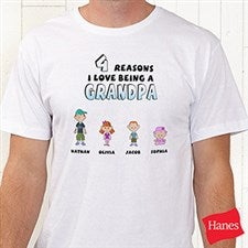 Personalized Men's Clothing - His Reasons Why - 8569
