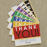 Personalized Graduation Thank You Note Cards - With Great Pride - 8570