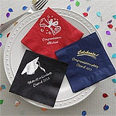 Personalized Graduation Party Napkins - 8571
