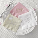 Personalized Party Napkins - Bridal Shower - 8573