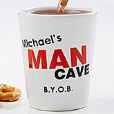 Personalized Shot Glasses - Man Cave - 8582