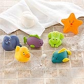 Baby Bath Toys - Set of 6 Toys - 8619