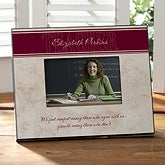 Personalized Picture Frames - Inspiring Teachers - 8627