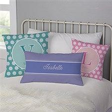 Personalized Kids Linen Keepsake Pillows - 8634
