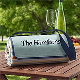 Personalized Picnic Blanket Tote - 8648