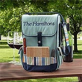 Personalized Wine & Cheese Picnic Tote - 8652