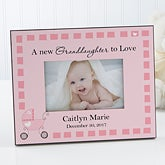 Personalized Grandparent Picture Frame - New Grandbaby - 8653