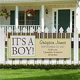 It's A Boy© Personalized Announcement Banner