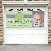 Personalized Baby Photo Banners - New Arrival - 8667