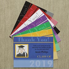 Personalized Graduation Thank You Cards - Destiny Achieved - 8670