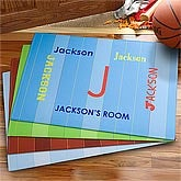 Personalized Kids Doormats - Boys Name - 8671