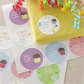 Personalized Birthday Gift Stickers - Birthday Fun - 8681