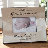 Personalized Picture Frames - Great-Grandparent Is Born - 8721