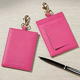 Personalized Leather Luggage Tags for Women - 8745