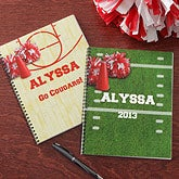 Personalized Cheerleader Notebooks - Set of Two - 8758